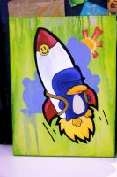 Rocketing Away by pockets1987