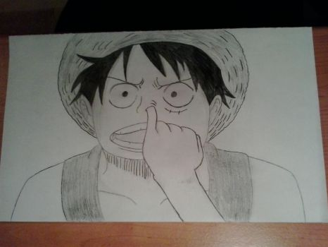 luffy after 10 years by sythokhann