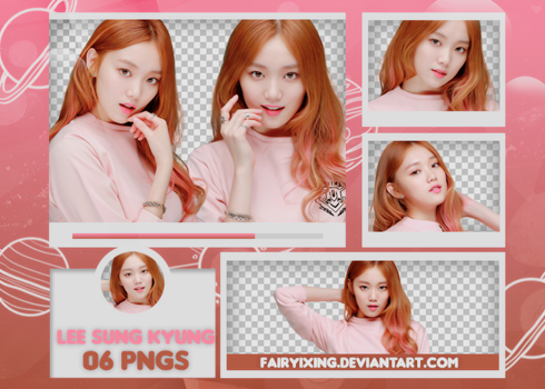 [PNG PACK #618] Lee Sung Kyung by fairyixing