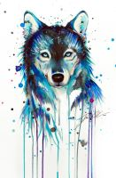 Dark Wolf -on sale- by PixieCold