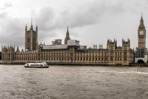 Palace of Westminster on the Thames by sequential