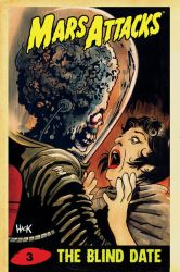 Mars Attacks #3 variant cover by RobertHack