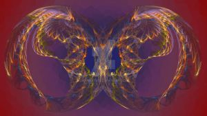 surreal wings of glory