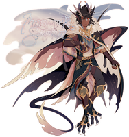 [CLOSED] Serafin Auction 16: Midsummer Seraphim by dracooties