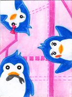 30-Day-Challenge #1: Penguin! by QuecksilberRose