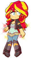 Sunset Shimmer by abbybean