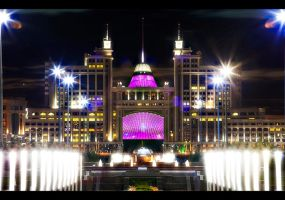 Astana Lights by PortraitOfaLife