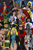 JLA and the Avengers by George Perez by markdominic