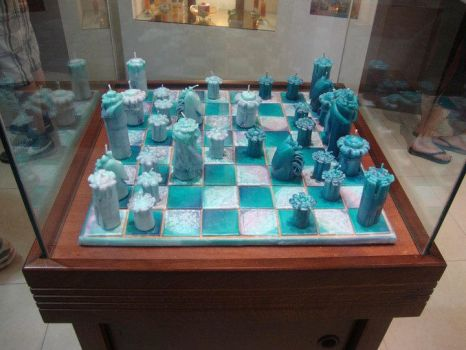 Candle Chess by itsayskeds
