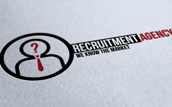 Recruitment Agency Logo 2 by mmounirf