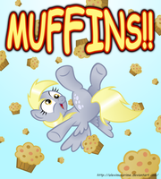 IT'S RAINING MUFFINS! by AleximusPrime
