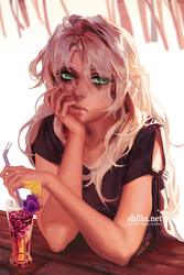 Summer (sketch for Patreon) by shilin