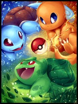PICK YOUR STARTER!!! - Pokemon by WalkingMelonsAAA