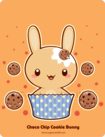 Chocolate Chip Truffle Bunny by mAi2x-chan