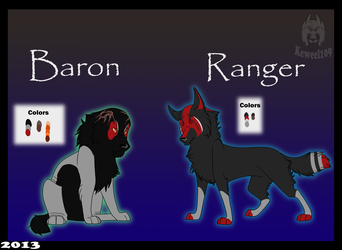 Baron and Ranger by keweel109