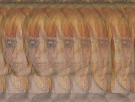 Aiko Portrait. Stereogram. by 3Dimka
