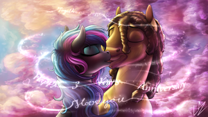 :COMM: Loved Anniversary by LupiArts