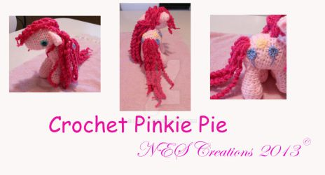 Crochet Pinkie Pie by Zero23