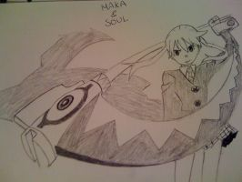 Maka and Soul by Mr-Yipster