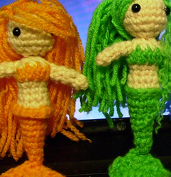 Mermaid Amigurumi PATTERN by KitWolfren
