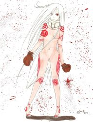 Deadman Wonderland: Shiro - colored --Try #1 by HikariShimizu