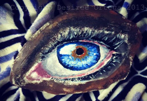 Acrylic Eye first attempt by TheAthenianOwl