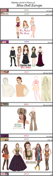 Slightly-caustic's Miss Doll Eurpe History by slightly-caustic