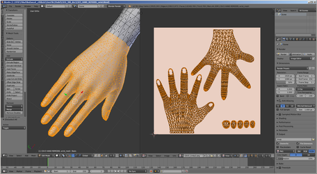 [MMD WIP] Path to C6V3 n.7 (hands 2nd try) by Riveda1972