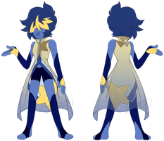 Lazuli's Alternative Crystal Gem Outfit by iPhysik