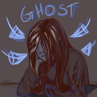 ghost by waywardJellyfish