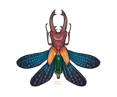 Stag Beetle by oxboxer