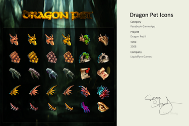 Pet Dragons 2 Icons by cseec