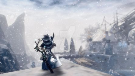 Guild Wars 2 Screenshot | Asura Necromancer by Ivysaura