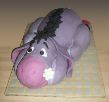 Eeyore Cake by mike-a