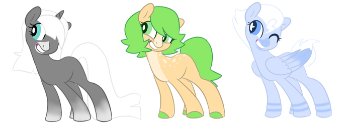 Mlp Point Adopts (Open!) by BIueTay