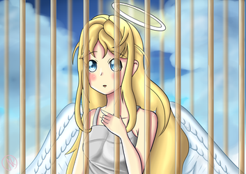 The Angel in the Cage by TheGui9876