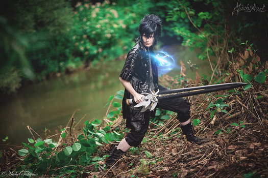 Noctis cosplay by MischAxel ph michel takuma by MischievousBoyAilime