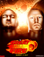 WWE Great Balls Of Fire 2017 Poster by workoutf