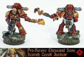 Pre-Heresy Thousand Sons Sergeant by Proiteus