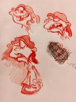 ::Double D Sketches:: by Camriko