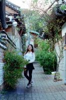Shinae in Bukchon II by neuroplasticcreative