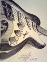 FENDER STRATOCASTER by SusHi182