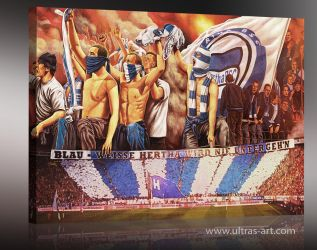 Hertha BSC Ultras by aaronwty