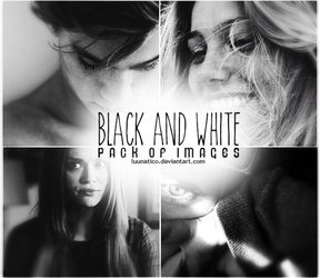 Black and White Pack of Images by Luunatico
