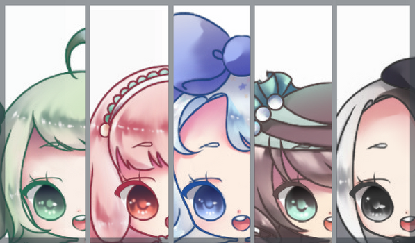[PREVIEW] Collab Adopt Batch w/ Rollingpoly by xisue