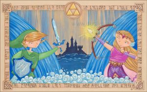 Reflooding Hyrule by Gimmeswords