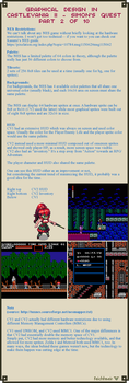 Graphical Design in Castlevania 2 - Part 2 of 10 by Cyangmou