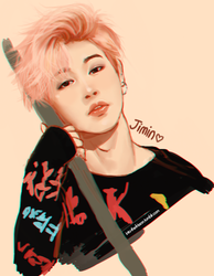 Cotton Candy Jimin by IntoTheFrisson