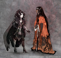 Severan and Ananthe by TTLuciferal