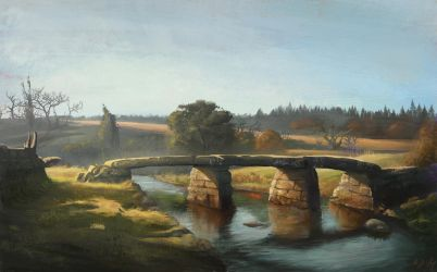 English Landscape Study by laesir